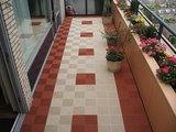 Onderhoudsvrije balkontegels terracotta