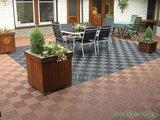 Terracotta antislip terrasvloer