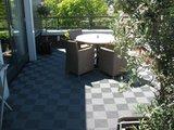 Grijze terrasvloer antislip